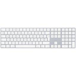 Apple Magic Keyboard with Numeric Keypad White HU
