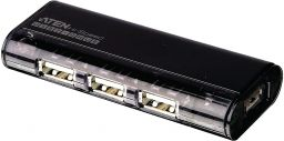 ATEN UH284 4-Port USB2.0 Hub with Magnetic Black