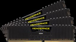 Corsair 16GB DDR4 2666MHz Kit(4x4GB) Vengeance LPX Black