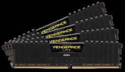 Corsair 64GB DDR4 2400MHz Kit (4x16GB) Vengeance LPX Black