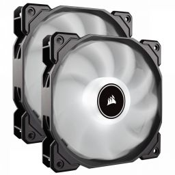 Corsair Air Series AF140 LED (2018) White Fan Dual Pack