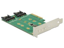 DeLock PCI Express Card > 3x M.2 Slot – Low Profile Form Factor