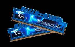 G.SKILL 16GB DDR3 2400MHz Kit(2x8GB) RipjawsX Blue