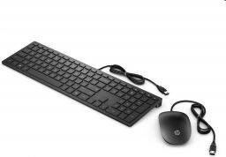 HP Pavilion 400 keyboard and mouse Black ENG