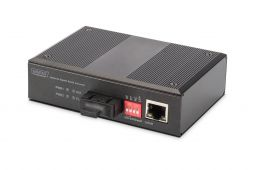 Digitus Industrial Gigabit Ethernet Media Converter, MM