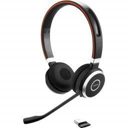 Jabra Evolve 65 MS Duo Bluetooth USB Black