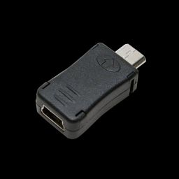 Logilink miniUSB Female to microUSB Male adapter