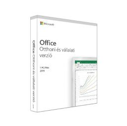 Microsoft Office Home and Business 2019 Hungarian EuroZone Medialess P6