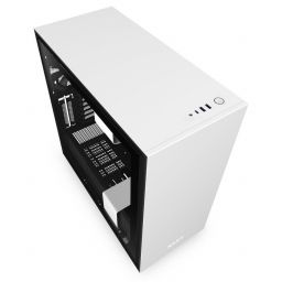 NZXT H710 Tempered Glass Matte White/Black