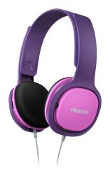 Philips SHK2000PK Headphones Puprle/Pink