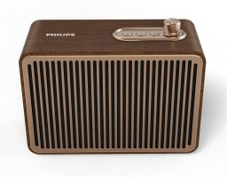 Philips TAVS500 Retro Bluetooth Speaker Wood