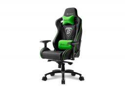 Sharkoon Skiller SGS4 Gaming Chair Black/Green
