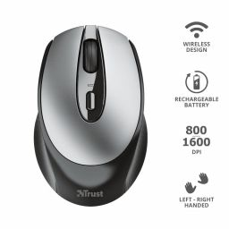 Trust Zaya Rechargeable Wireless mouse Black