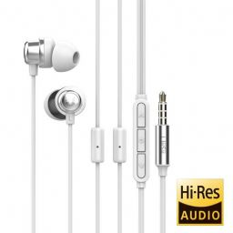 UiiSii K8 Gaming Earphone with Dual MIC White