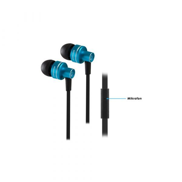 Rampage Phoenix headset Black/Blue